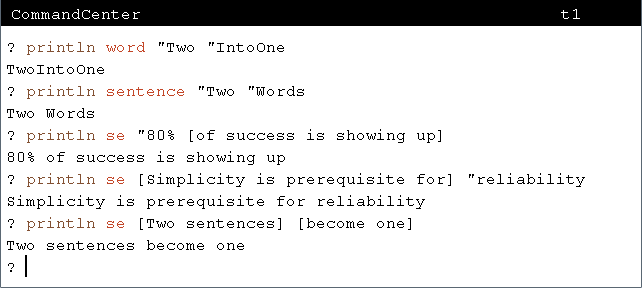 Introduction To Computer Programming Words Sentences